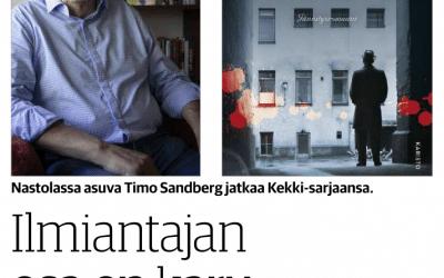 Arvioni Timo Sandbergin Kostonkierre-rikosromaanista